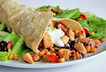 Burrito com frango: receita para pratos mexicanos