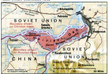 conflicto chino-soviético en 1969