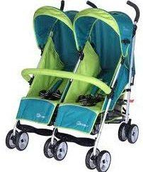 Wózki dziecięce dla bliźniaków: zalety i słabości