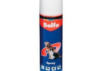 """Przeciwpasożytnicze sprayu """"Bolfo"""""""