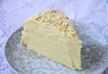 "torta di cottura ""Napoleone"" a casa"