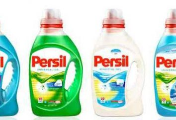 """Gel para el lavado """"Persil"""". Los comentarios positivos y negativos"""