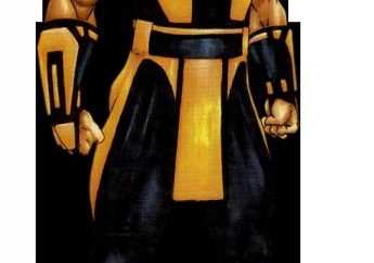 Mortal Kombat, Scorpione. carattere Biografia