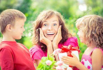 Escena sobre el Día de la madre de la madre divertida