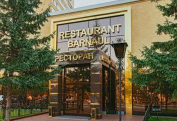 Ristoranti, bar Barnaul: informazioni di base, recensioni
