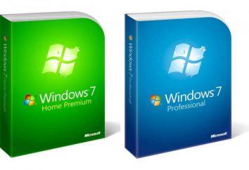 Dla systemu Windows 7, ustawienia muszą być poprawne