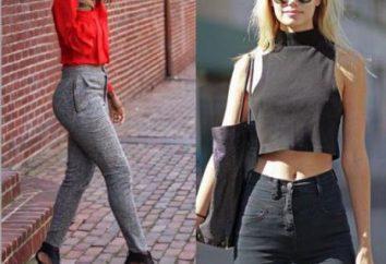 Que porter avec un jean taille haute? Conseils filles