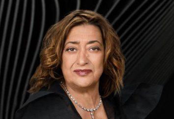 Femme architecte Zaha Hadid: attractions créées par un génie