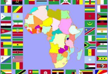 la bandiera dell'Africa – la lotta contro il colonialismo