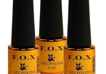FOX – lacca gel, che si può provare in tutta sicurezza!
