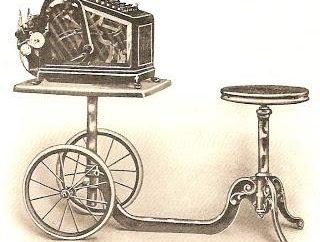 Sabe que inventou uma máquina de adição?