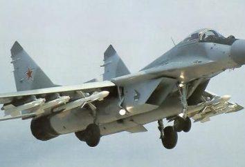 MIG-29: Spécifications. MiG-29: armement, vitesse, photos