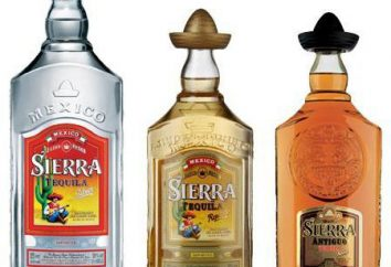 """Tequila """"Sierra"""": eine ausführliche Beschreibung und die Art des Produkts"""