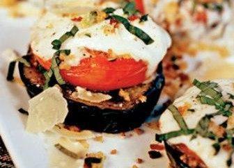 Plats délicieux de l'aubergine: recettes