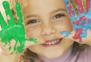 Fingerfarben für Kinder – Unterstützung junger Künstler