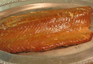 Como salar um salmão rosa em casa