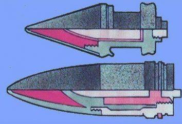 Das subcaliber Projektil unterscheidet sich von der herkömmlichen panzerbrechend