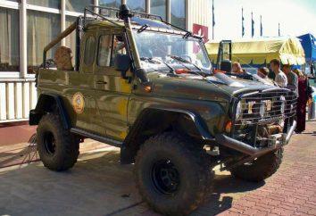 UAZ-Modelle (Foto)