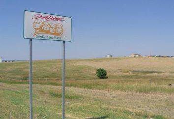 Allgemeine Beschreibung und kurze Geschichte des Staates South Dakota