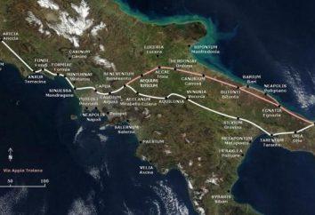 Appian Way in Rom: Geschichte und Beschreibung