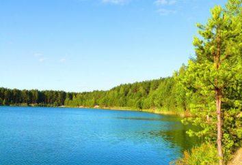 Blue Lake, regione di Chernihiv. Resto in Ucraina