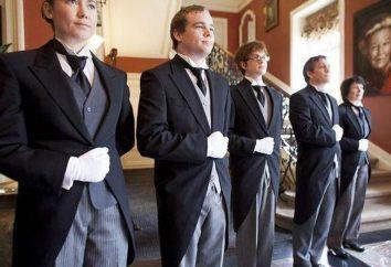 Butler – un valet ou maître d'hôtel? moderne Butler