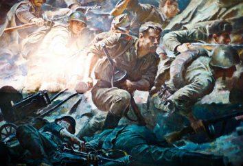 L'héroïsme de la guerre: la composition du courage et de sacrifice