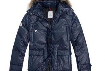 hombres abajo chaquetas largas de crudo invierno ruso