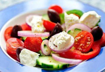 Sałatka z feta: przepisy kulinarne