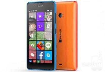 Nokia Lumia 540 teléfonos inteligentes: Características y opiniones