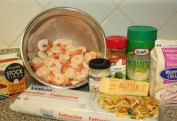 Pasta con gamberi in salsa di aglio cremosa: Ricette