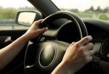 Por que bateu o volante durante a condução ou travagem?