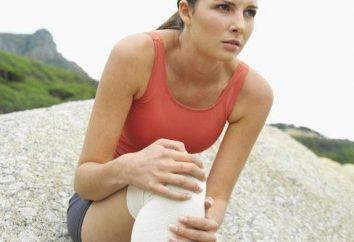 genou endolori: que pour traiter des blessures mineures et des dommages graves?