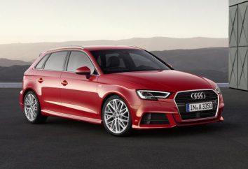 """Coche """"Audi A3"""": revisión de los propietarios, especificaciones y descripciones"""