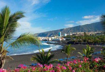 Tenerife nel mese di settembre, e non solo il clima, meteo e recensioni su tutto il resto