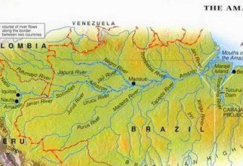 Tiefland Amazon: Koordinaten Beschreibung