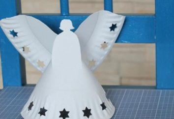 Jak zrobić świąteczne rzemiosła z rękami? Jak zrobić gwiazdę Boże Narodzenie i anioła w domu