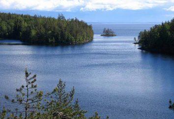 Główne rzeki i jeziora Rosji: nazwa, zdjęcie