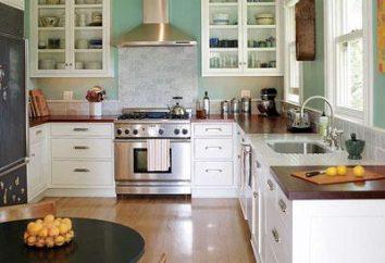 Per rendere la riparazione di una piccola cucina, hanno bisogno di un sacco di immaginazione