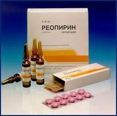 """""""Reopirin"""" lek. Instrukcje użytkowania"""