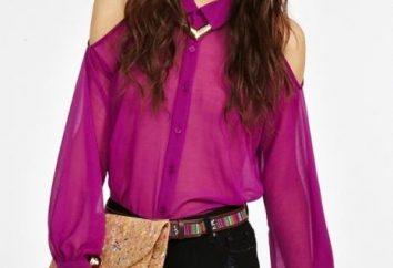 Comment et quoi porter des blouses en mousseline de soie?