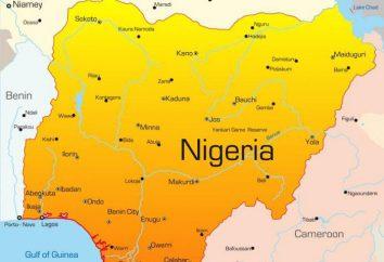 La République fédérale du Nigeria: la structure de l'Etat, le capital, la population