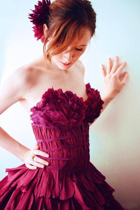 Cómo Hacer Un Vestido De Papel Corrugado Master Class