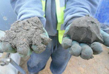 La consommation de mélange de sable à ciment de 1 m2, les proportions
