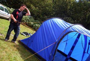 Wie ein Zelt sammeln: Tipps erfahrene Reisende