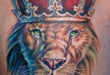 Il tatuaggio di un leone è importante?