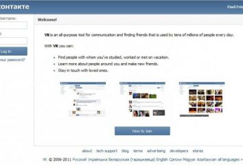 Como eu sei que é aposentado de amigos em VKontakte? Fácil!