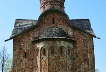 Pietro e Paolo Chiesa in conciatore. Il monumento della cultura antica di Veliky Novgorod