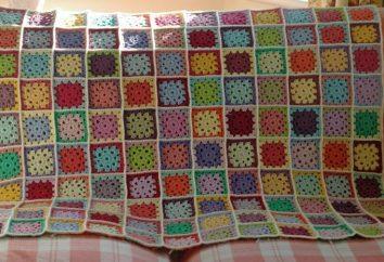 Artesanato para o lar ea família. crochet plaid