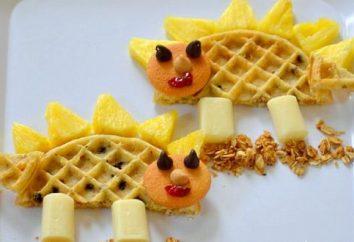 waffles delicioso. A receita para waffle Soviética